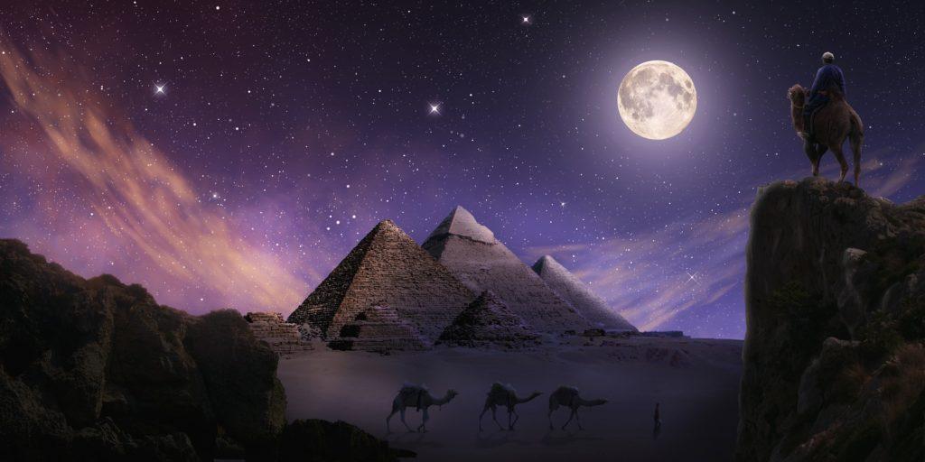 L'Alchimiste de Paolo Coelho_Les Pyramides d'Egypte